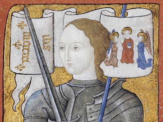Joanna d'Arc (Dziewica Orleańska) – życiorys francuskiej bohaterki narodowej