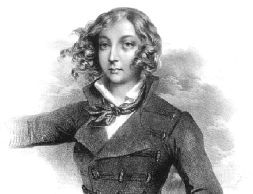 Emilia Plater na rycinie z epoki, a także udział w powstaniu, historia jej przewodzenia i bohaterskiej śmierci