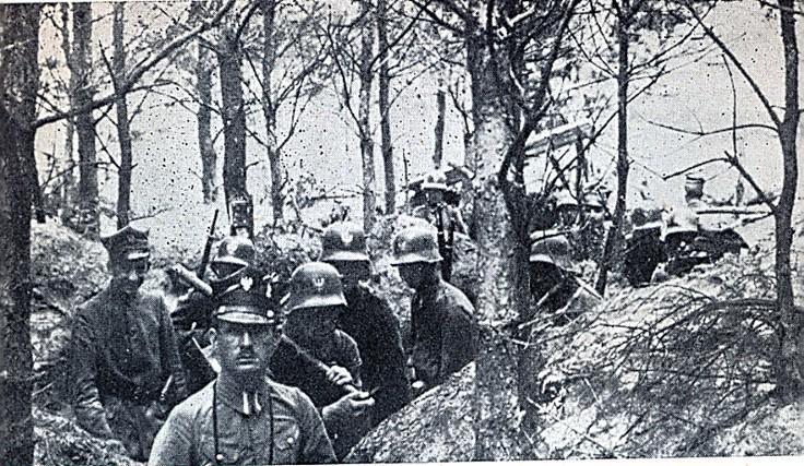 Powstanie Wielkopolskie 1918-1919 r. to ważne wydarzenie w historii Polski - na fotografii żołnierze, uczestnicy Powstania Wielkopolskiego