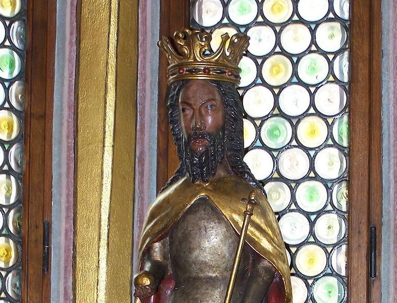 Kazimierz Wielki w statui z Kolegiaty Wiślickiej, mąż Krystyny Rokiczanej, a także jej działalność spiskowa, śmierć i małżeństwo