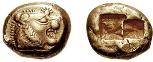 Pieniądze z Lidii, czyli pierwsze fizyczne pieniądze w formie złotych krążków, a także inne wynalazki ważne dla ludzkości