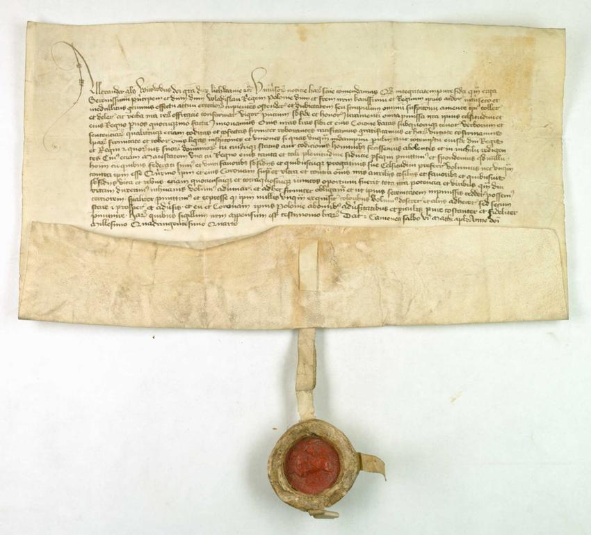 Unia w Horodle została podpisana między królem Władysławem Jagięłłą a Witoldem Kiejstutowiczem, który w akcie przysiągł wierność Koronie