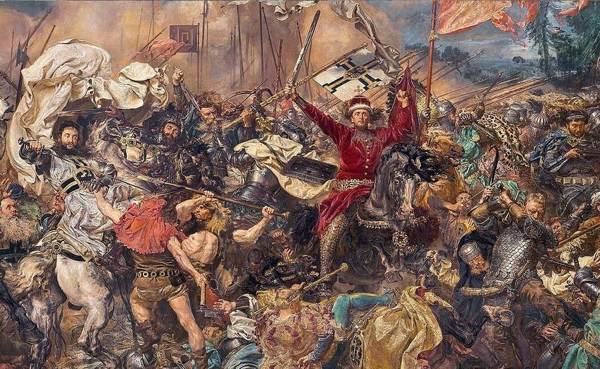 Bitwa pod Grunwaldem na obrazie Jana Matejko, a także informacje o bitwie pod Grunwaldem, wydarzenia, daty, przyczyny i skutki oraz przebieg