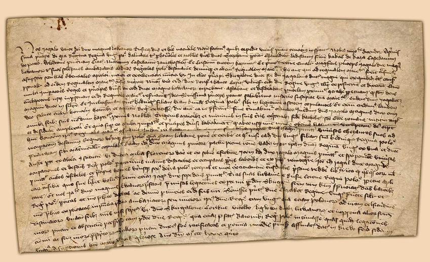 Akt Unii w Krewie podpisany w XIV wieku, a także data unii, najwazniejsze postanowienia, strony oraz przyczyny zawiązania paktu