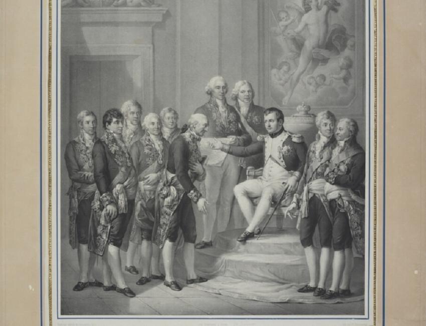 Napoleon podczas nadawania Księstwa Warszawskiego na obrazie Boticceliego, a także Konstytucja Księstwa Warszawskiego, jej zasady oraz znaczenie