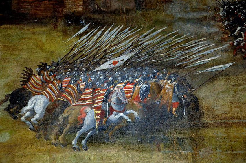 Bitwa pod Kłuszynem 1610 na obrazie Boguszewicza Atak polskiej husarii, a także naważniejsze informacje o 10 najważniejszych bitwach w historii Polski