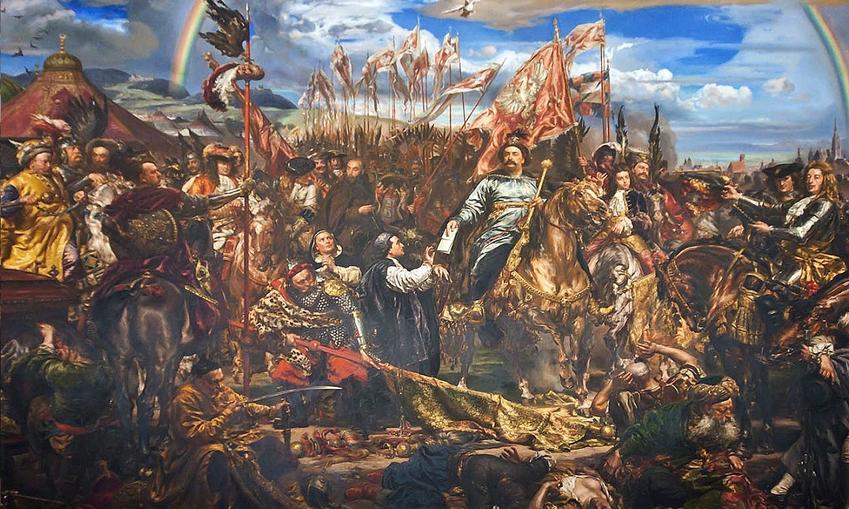 Sobieski pod Wiedniem wysyła informacje o wygranej do papieża w wyobrażeniu Jana Matejko, a także 10 najważniejszych bitew w historii Polski