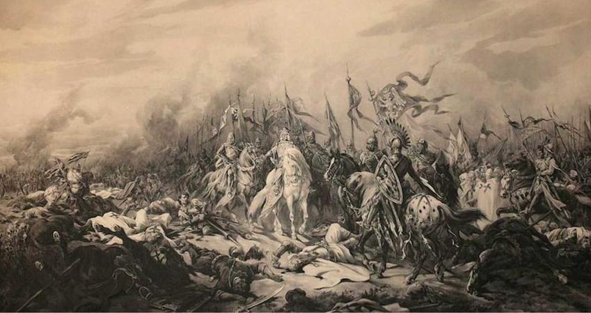 Bitwa pod Płowcami na obrazie Juliusza Kossaka, a także informacje o jej przebiegu: znaczenie, dokładna data, strony konfliktu, przyczyny i skutki