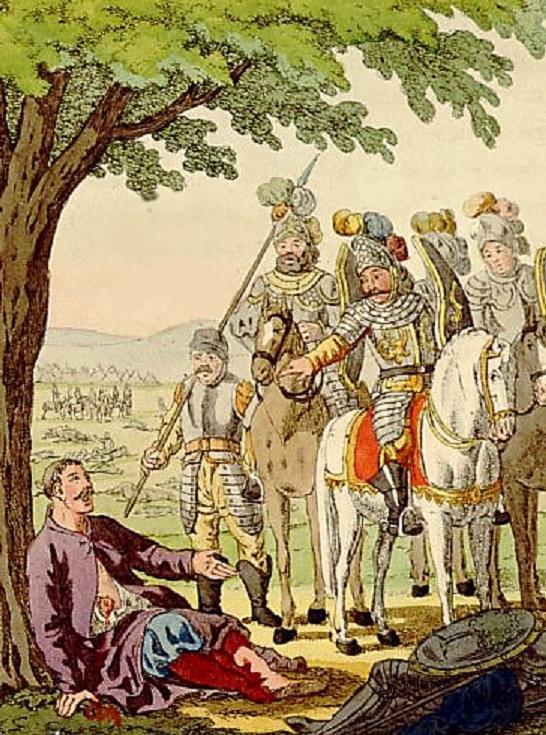 Władysław Łokietek odpoczywający po Bitwie pod Płowcami, a także strony konfliktu, przyczyny, skutki oraz przebieg i daty