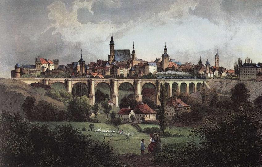 Widok na miasto Budziszyn, pod którym rozegrała się bitwa z Niemcami, a także daty, przebieg i znaczenie wyprawy