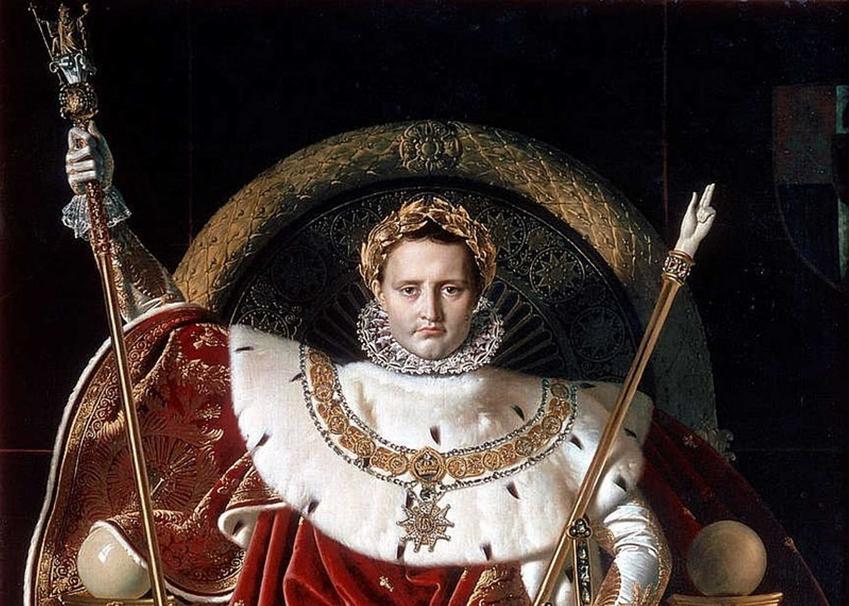 Napoleon po koronacji na obrazie Ingresa, a także informacje o koronacji: data, przebieg oraz znaczenie dla historii