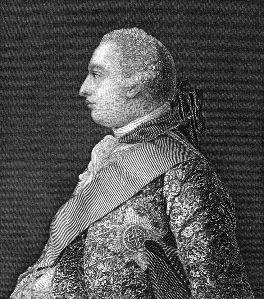 George III, król Wielkiej Brytanii - Jerzy III Hanowerski, a także informacje o koalicjach antyfrancuskich za panowania tego władcy, daty i przyczyny związania