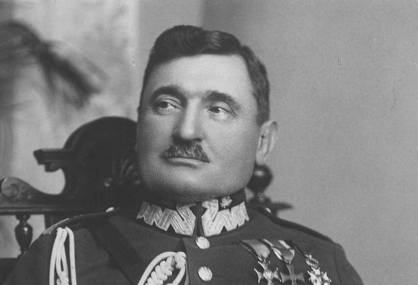 Stanisław Taczak w mundurze polskiego wojska, a także informacje o dowódcy Powstania Wielkopolskiego, biografia i historia