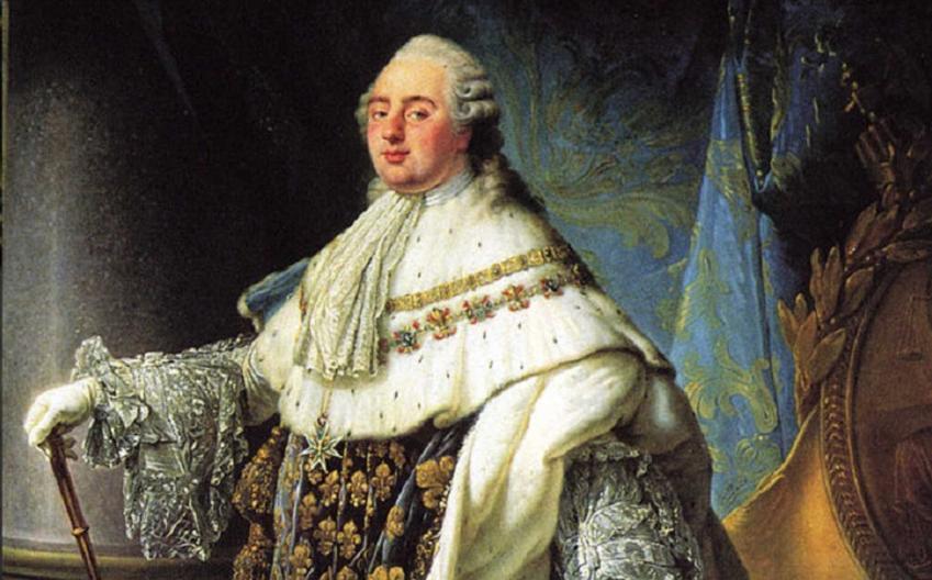 Ludwik XVI na portrecie Calleta, a także informacje o władcy: biografia, rodzina, rządy, stanowisko do wybuchu rewolucji