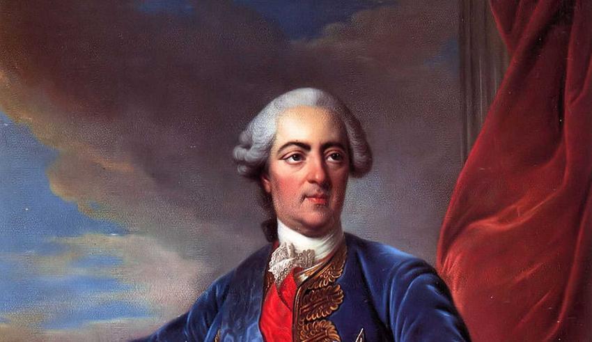 Ludwik XV na obrazie Louisa-Michela van Loo, a także informacje o władcy Francji - pochodzenie, objęcie władzy oraz polityka