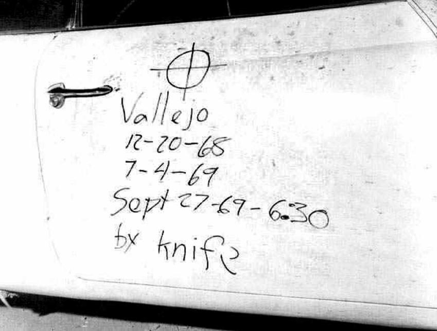 Wiadomość, którą Zodiak zostawił policjantowi na drzwiach jego samochodu, a także historia mordercy Zodiaka