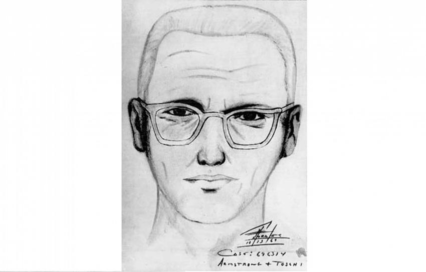 Wizerunek Zodiaka, nieuchwytnego seryjnego mordercy w Stanach Zjednoczynych grasującego w II połowie XX wieku, a także jego historia