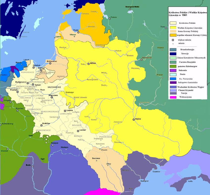 Unia litewska oznaczała złączenie dwóch państw, zewanie jej oznaczało znaczne osłabienie Korony