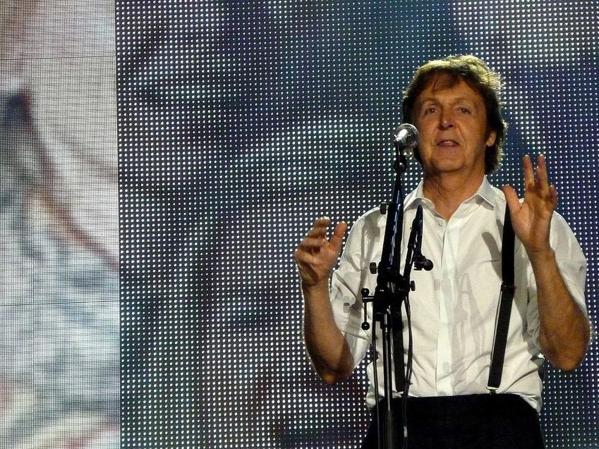 Paul McCartney na koncercie w Dublinie w 2010 roku, a także żony i dzieci Paula McCartneya oraz życiorys i życie prywatne muzyka