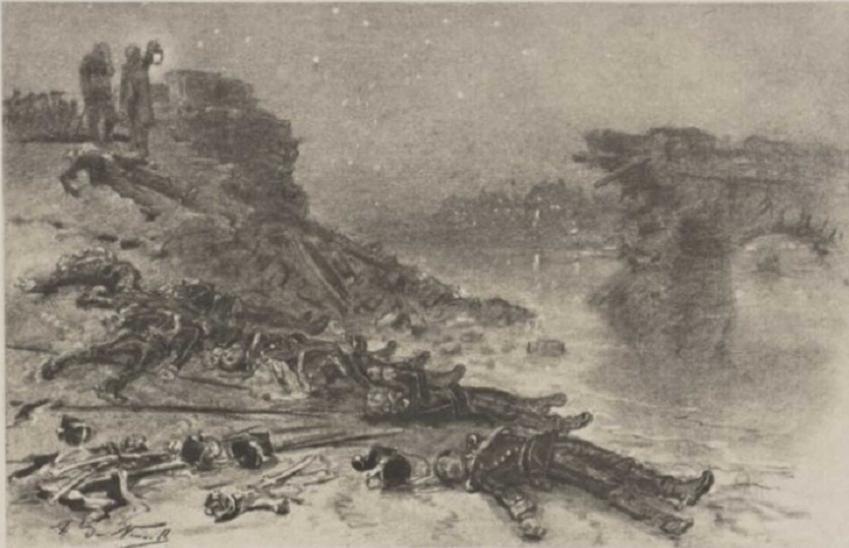 Epizod z wojny Francusko-Pruskiej na rycinie z 1848 (?) roku, a także najważniejsze informacje: data, przyczyny, przebieg, skutki i oblężenie Paryża