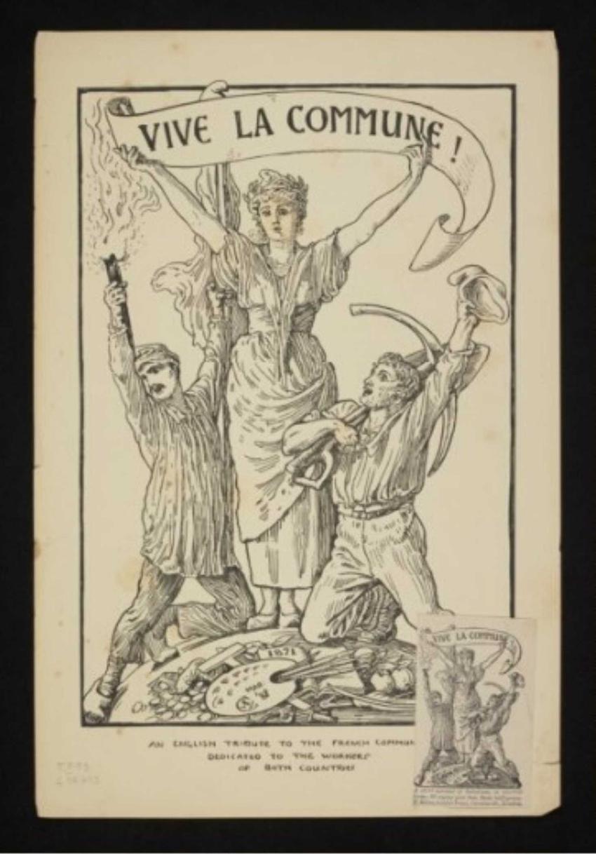 Rycina przedstawiająca Marsyliankę, czyli Komuna Paryska, przebieg konfliktu, znaczenie, konsekwencje, skutki i przyczyny