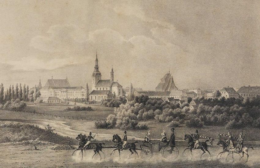 Panorama Kalisza z połowy XIX wieku, a także najważniejsze informacje o Kaliszu - czy jest to starożytna Calisia?