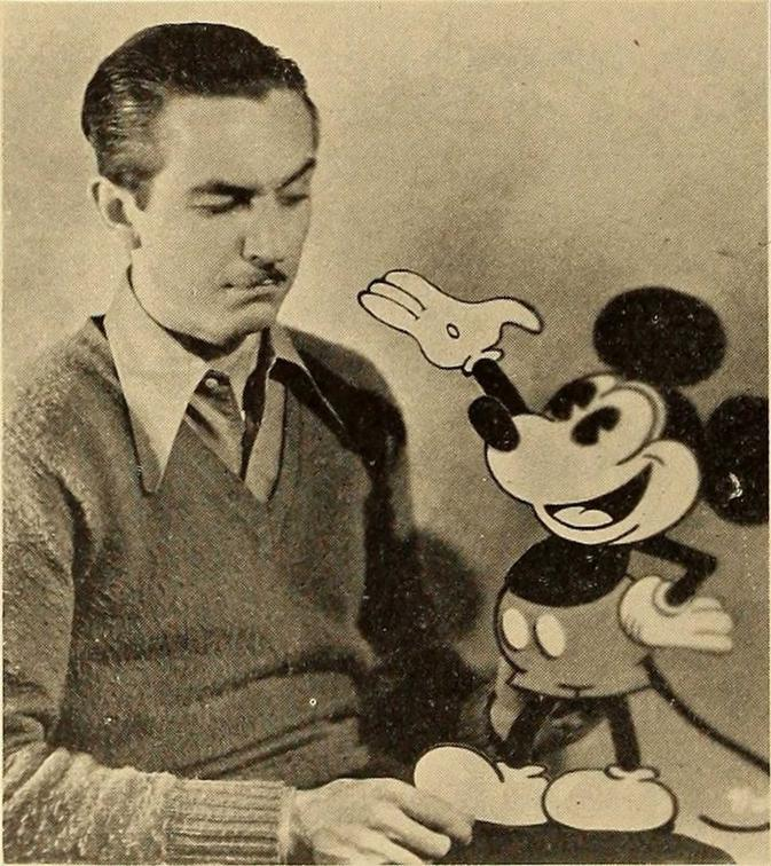 Walt Disney i Myszka Miki, a także życiorys, rodzina, działalność artystyczna, a także filmografia