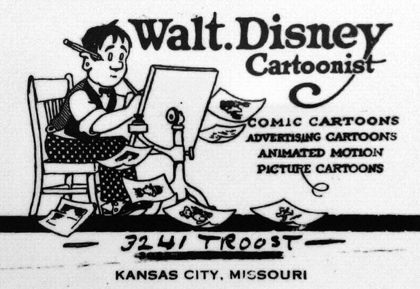 Autoportret Walta Disneya, a także życiorys, działalność, filmografia oraz rodzina twórcy filmów animowanych