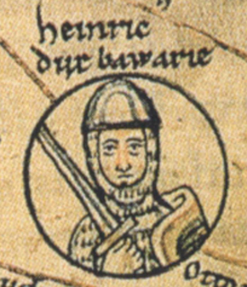 Henryk I książę Bawarii oskarżony o to, że targnął się na życie Bolesława Chrobrego