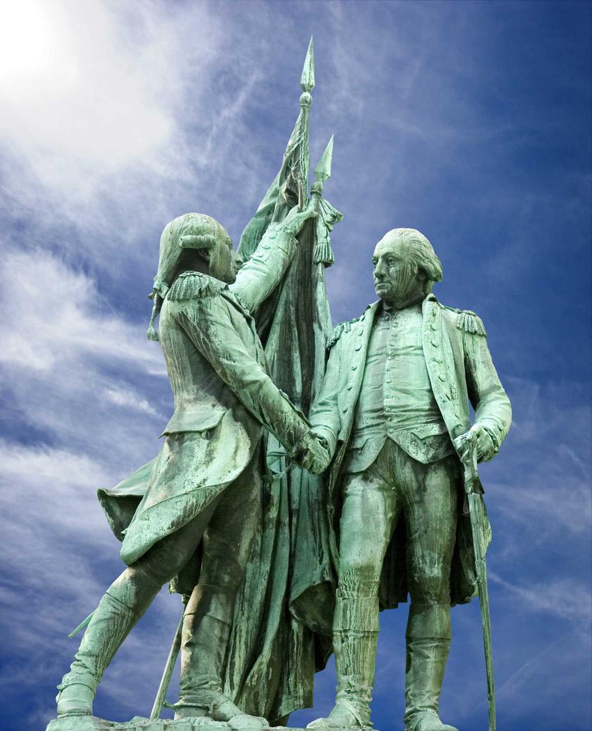 Wkład Francji w uzyskanie niepodległości przez USA, czyli współpraca amerykańsko-francuska w czasie XIX wieku