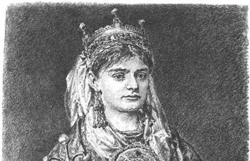 Rycheza Lotaryńska, pierwsza koronowana królowa Polski, a także jej pochodzenie, życiorys, daty, wpływ na losy Polski