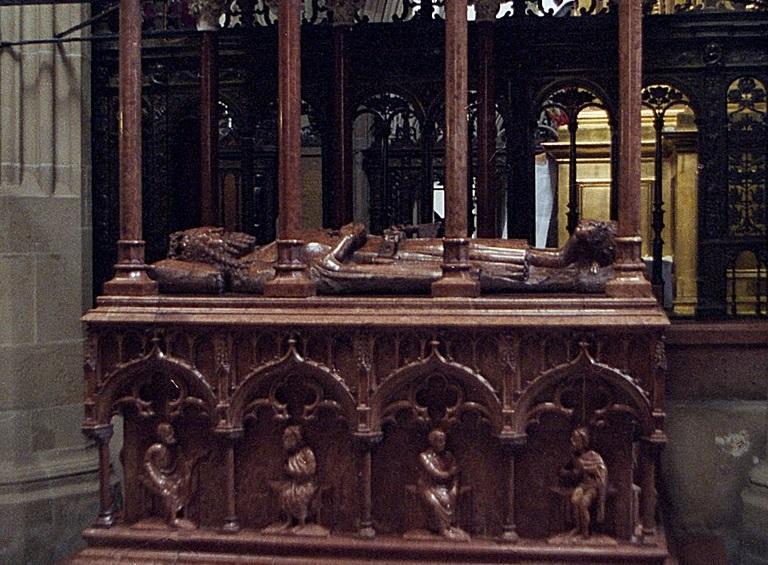 Śmierć Kazimierza Wielkiego miała miejsce w Krakowie w 1370 r., a poddani ufundowali nagrobek znajdujacy się na Wawelu
