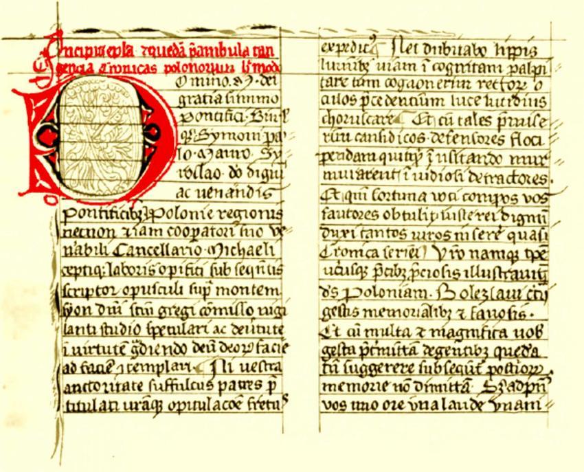 Gall Anonim i jego życiorys, czyli pochodzenie, działalność, ciekawostki oraz rękopisy i dzieła