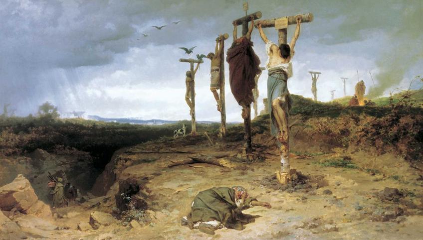 Ukrzyżowanie, czyli okrutna kara śmierci w starożytności - najważniejsze informacje o karze śmierci poprzez ukrzyżowanie