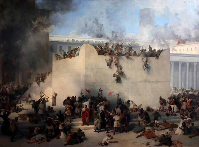 Historia narodu Izraela, czyli niewola, ziemia Kaanan, Rzym i Babilonia