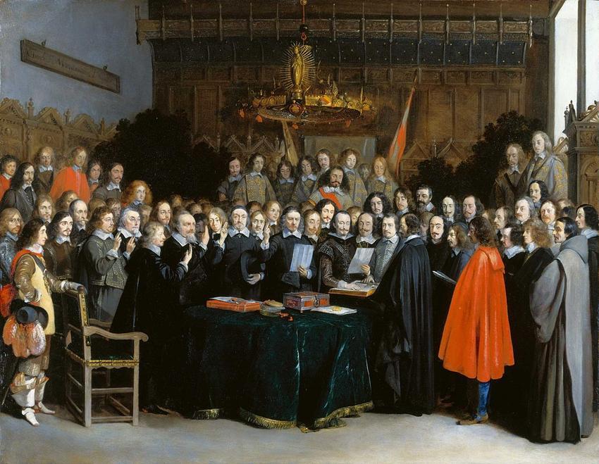 Pokój westfalski krok po kroku, czyli strony, traktak, postanowienia, dokładna data oraz podział terytorium
