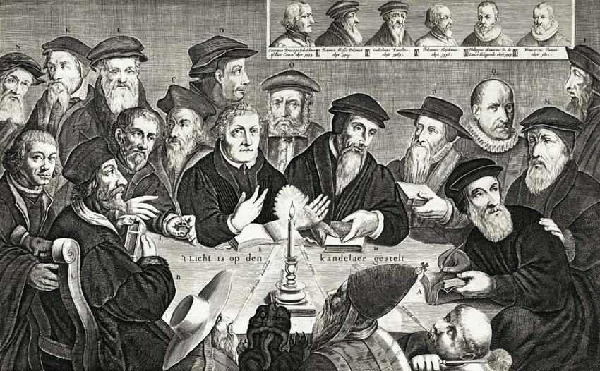 Reformacja w Polsce krok po kroku, czyli daty, działacze, założenia, kalendarium i przebieg