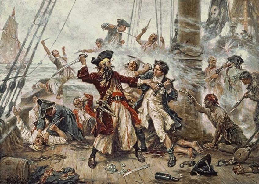 Czarnobrody, najgroźniejszy pirat z Karaibów, a także jego historia, ofiary, zbrodnie i najważniejsze wydarzenia