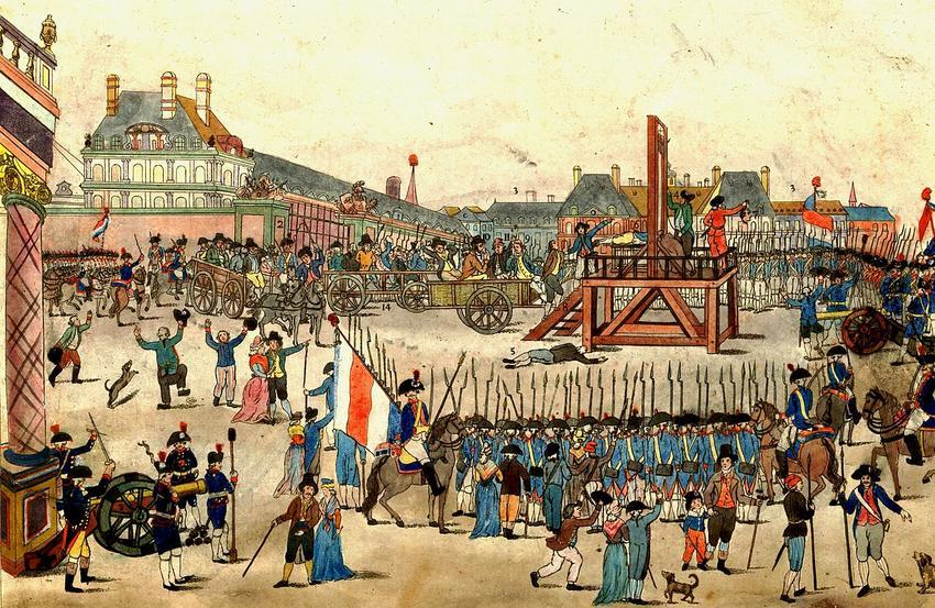 Jakobini rozpętali rewolucję ze wzlględu na szczytne cele, jednak przypłacili za to życiem - Egzekujca przywódców Jakobinów