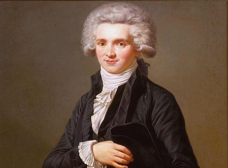 Jakobini mieli najważniejszego przywódcę Maksymiliana Robespierre'a - przywódca Jakobinów na obrazie Labille Guiard