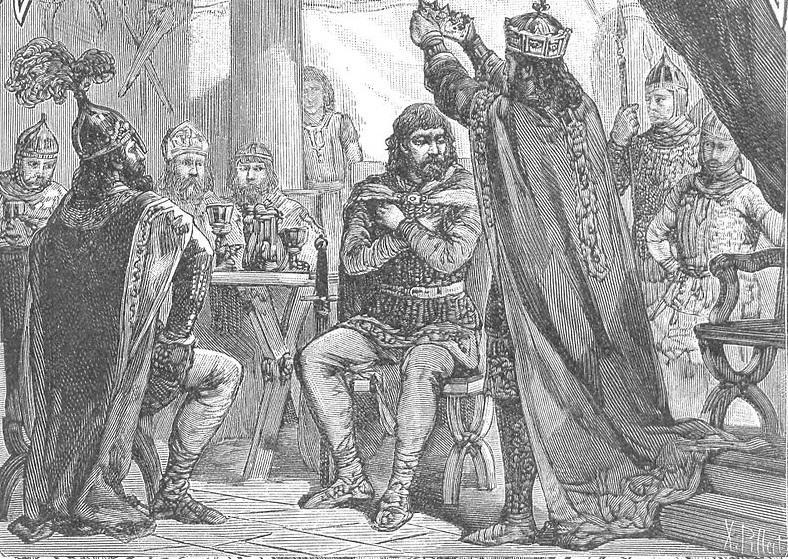 Koronacja Bolesława Chrobrego miała ogromne znaczenie dla roli i historii kraju - wyobrażenie Ksawerego Pillatiego