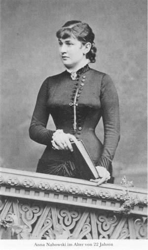 Anna Nahowski w wieku 22 lat