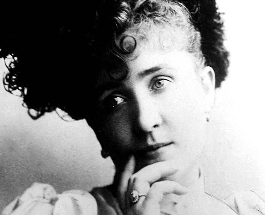 Katharina Schratt na zdjęciu wykonanym około 1900 roku