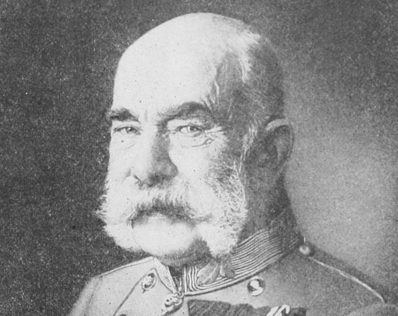 W Sojuszy Trzech Cesarzy Austro-Węgry reprezentował car Franciszek Józef I - fotografia z końca XIX wieku