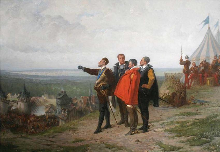 Król Polski i Król Francji Henryk III Walezy i jego panowanie, pochodzenie, ucieczka do Francji i abdykacja