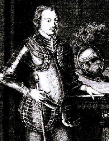 Kunegunda Piastówna wyszła za mąż za Ludwika Rzymskiego - tutaj na rycinie z epoki