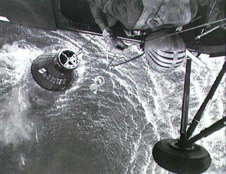Mercury ze śmigłowca