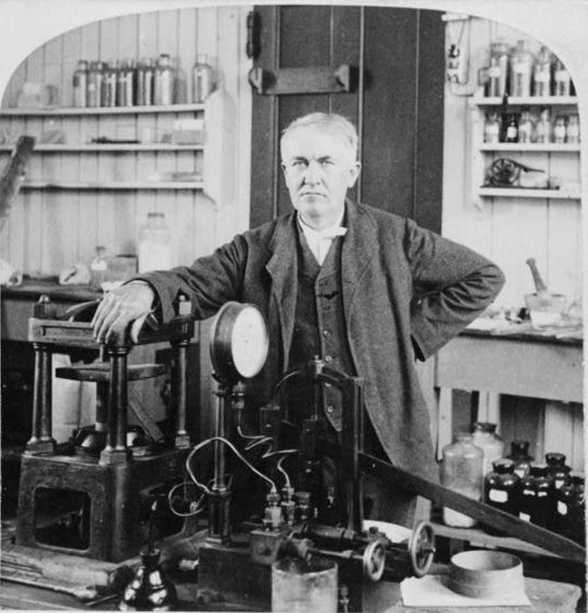 Thomas Edison i jego historia, czyli wynalazki, wykształcenia, dokonania dla nauki, patenty