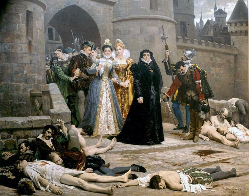 Noc świętego Bartłomieja, czyli krwawe wesele, podczas której doszło do rzezi hugenotów, data oraz przyczyny