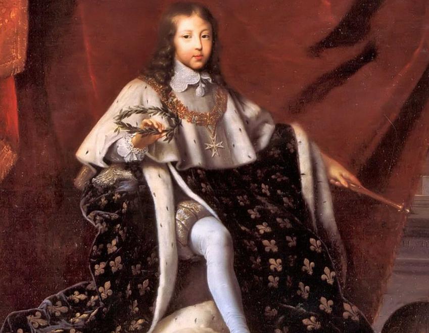 Ludwik XIV i jego historia, czyli pochodzenie króla, objęcie władzy, koronacja, podboje, polityka, budowa Wersalu